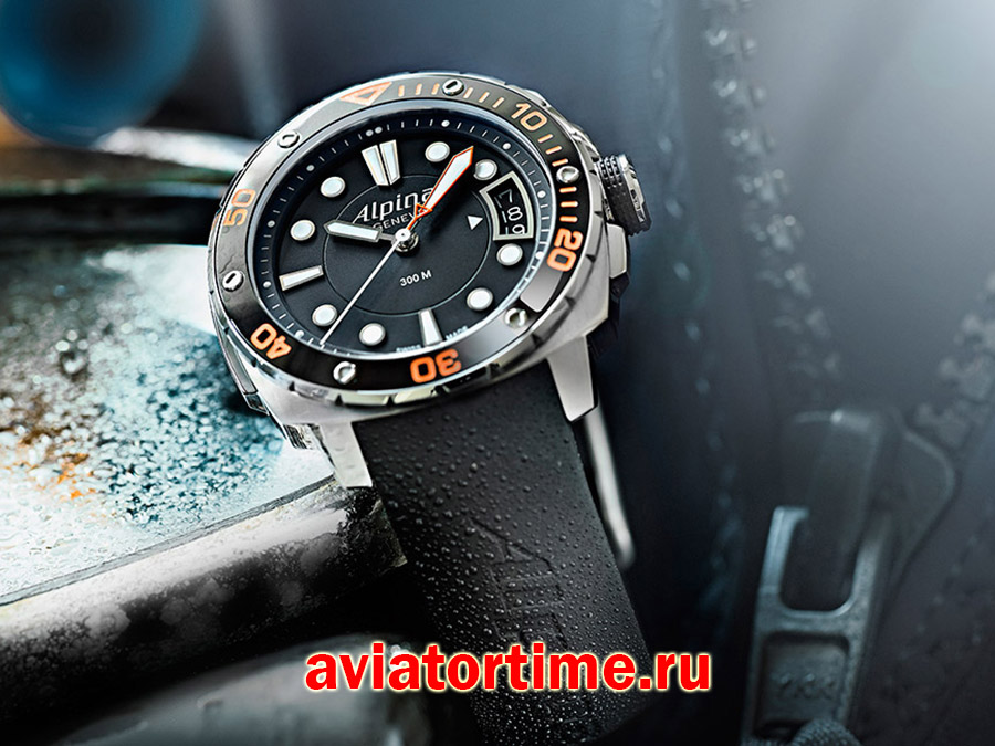 Alpina al-240lbo3v6 SEASTRONG COLLECTION Diver 300 MidSize имидж №1