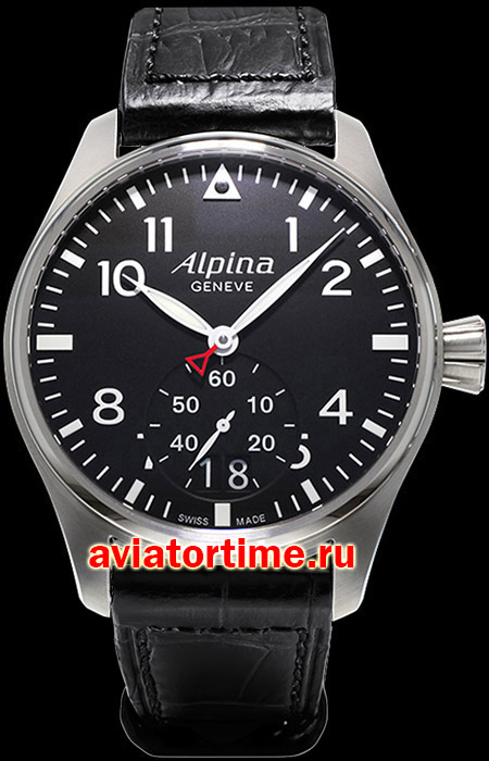Швейцарские часы Alpina AL-280B4S6 AVIATION Startimer Pilot Big Date