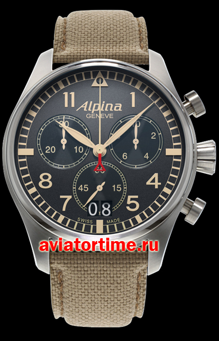 Швейцарские часы Alpina AL-372BGR4S6 AVIATION Startimer Pilot