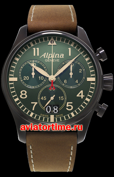 Швейцарские часы Alpina AL-372B4FBS6 AVIATION Startimer Pilot