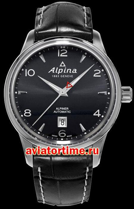 Швейцарские часы Alpina AL-525B4E6 AVIATION Alpiner Automatic
