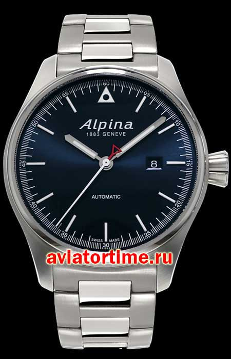 Швейцарские часы Alpina AL-525GB4S6 AVIATION Chronograph