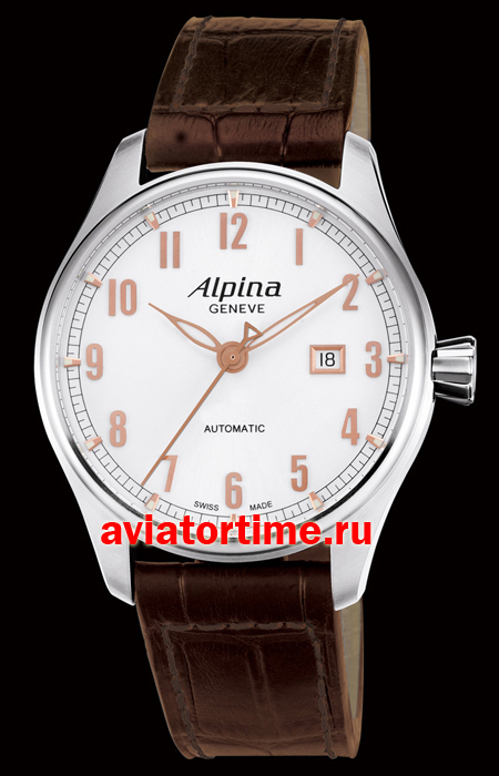 Швейцарские часы Alpina A-525SCR4S6 AVIATION AUTOMATIC. Automatic