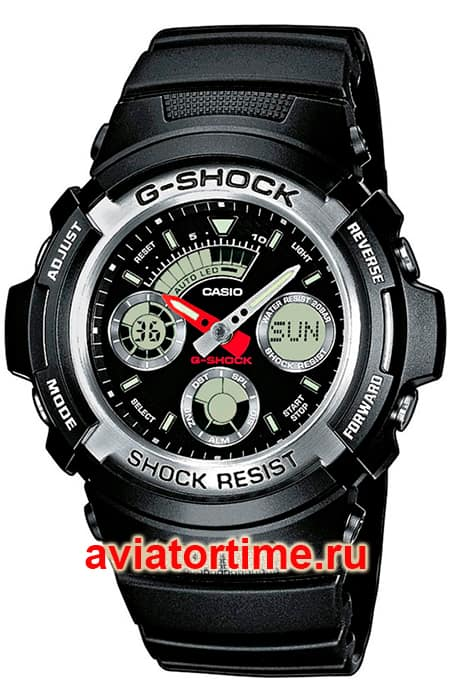 часы Casio AW-590-1A G-SHOCK