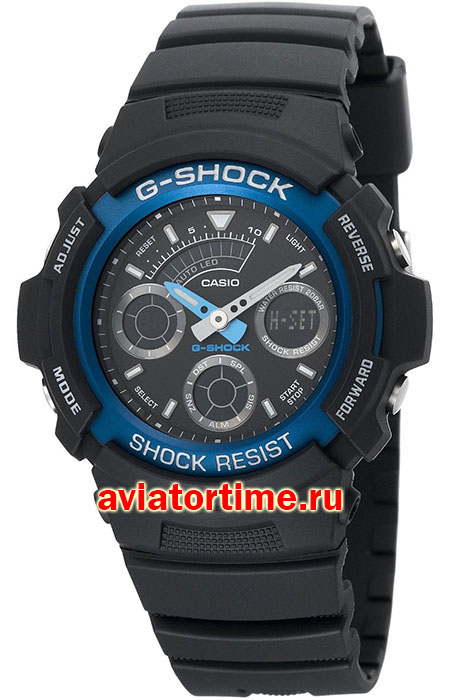 часы Casio AW-591-2A G-SHOCK