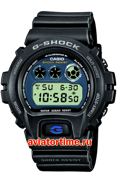 часы Casio DW-6900E-1E G-SHOCK