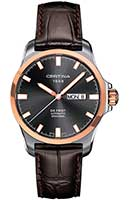 швейцарские часы Certina C014.407.26.081.00, DS FIRST DAY-DATE AUTOMATIC