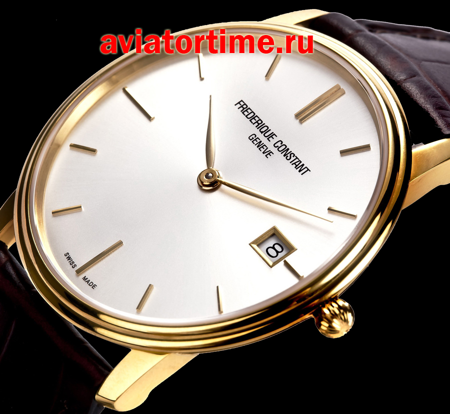 Часы Frederique Constant FC-220NW4S5 циферблат.