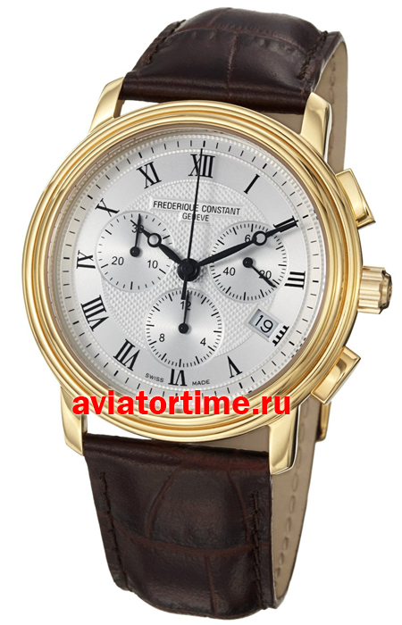 Швейцарские часы Frederique Constant FC-292MC4P5 Gents Chronograph Quartz