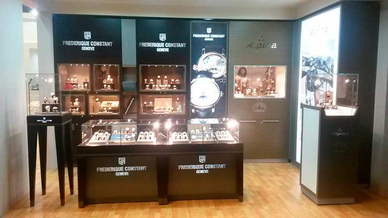 shop in shop concept Frederique Constant