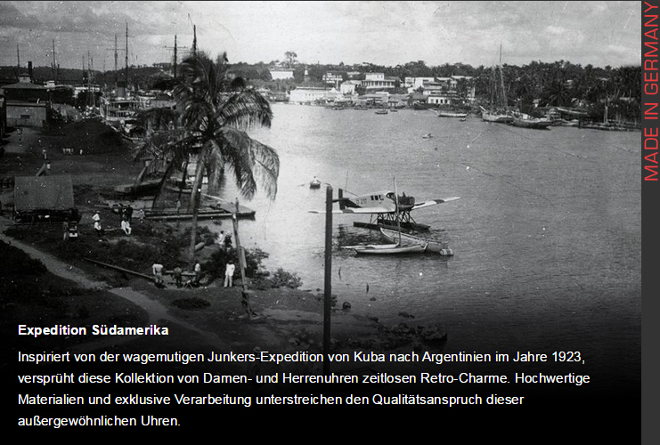 часы junkers Expedition South America