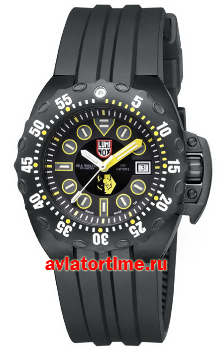 Мужские швейцарские часы LUMINOX XS.1526, LUMINOX A.1526 SET SEA SCOTT CASSELL SPECIALS