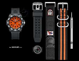 Швейцарские часы LUMINOX A.3059 SET Navy SEAL COLORMARK, комплект