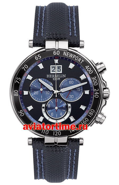 Швейцарские часы Michel Herbelin 36655-AN65.SM Newport Yacht Club Chronograph