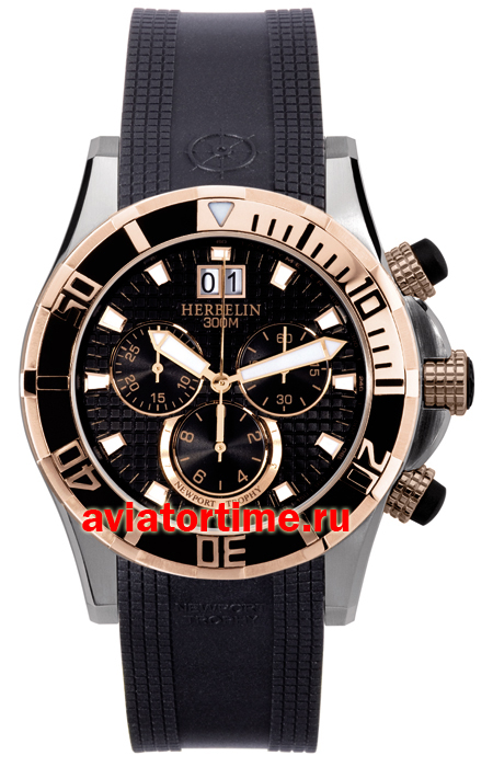 Швейцарские часы Michel Herbelin 36690-CTR14.SM Newport Trophy Grand Sport Chronograph