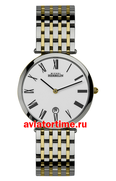 Швейцарские часы Michel Herbelin 414-BT01.SM Classic Extra Flat Watches
