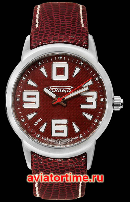 Часы Ракета Осень 0002 (RAKETA Autumn 0002) WW-R-20-AA-0002 Спереди