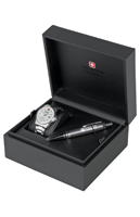 Швейцарские часы Swiss Military Hanowa 06-8010.04.001 с корбкой Swiss Recruit Gift Set