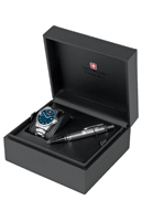 Швейцарские часы Swiss Military Hanowa 06-8010.04.003 с корбкой Swiss Recruit Gift Set