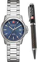 Швейцарские часы Swiss Military Hanowa 06-8011.04.003 Swiss Recruit Lady Prime Gift Set
