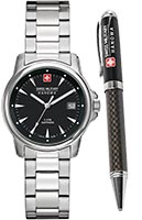Швейцарские часы Swiss Military Hanowa 06-8011.04.007 Swiss Recruit Lady Prime Gift Set