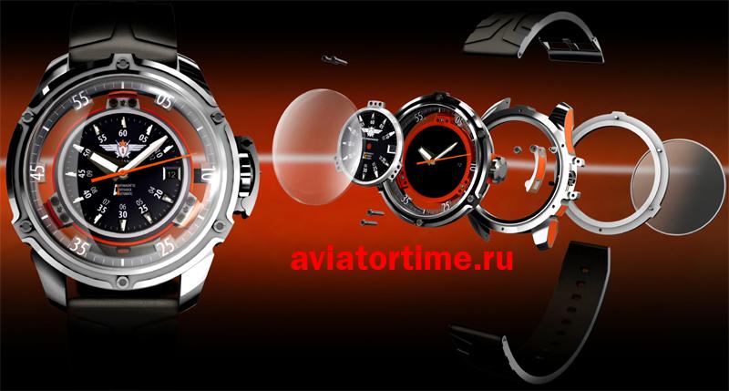 Часы Штурманские 2824-2/3375861 Марс мужские российские