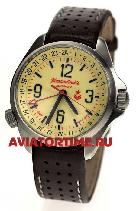 Часы Восток Командирские К-34, серые с. admin