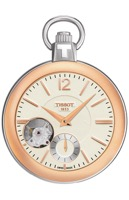 Швейцарские часы TISSOT T85.340.529.267.01 T-Pocket MECHANICAL SKELETON